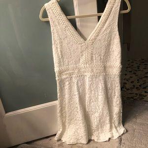 Francesca's white dress